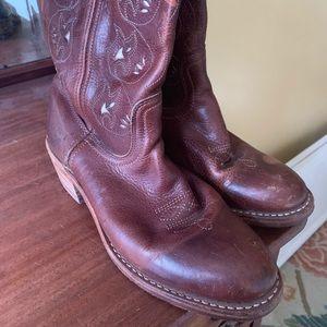 Frye cowboy boots 8.5
